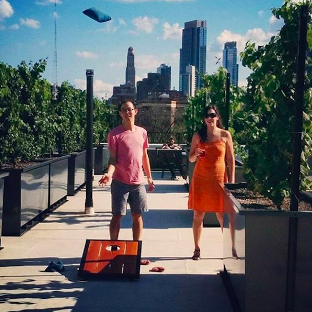 Photo via @RooftopReds on Instagram.