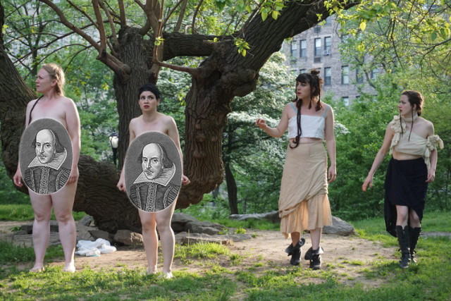 Bard it all: Female Shakespeare troupe bringing a free, all-nude Tempest to Prospect Park