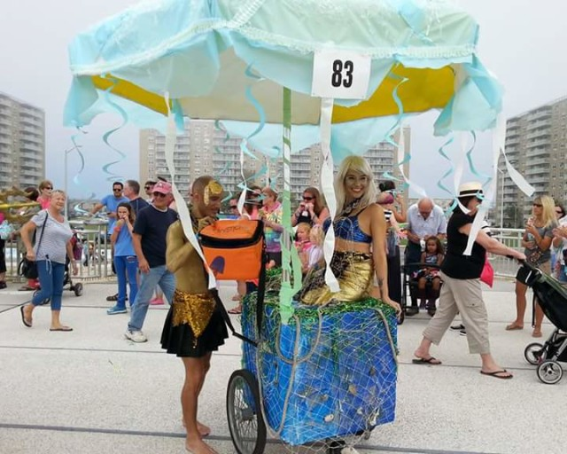Rockaway has its own under-the-sea parade, and it returns this weekend