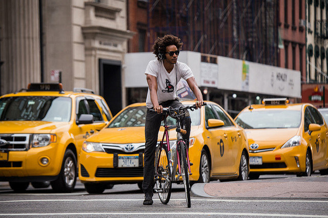 The six types of cyclists you meet in NYC