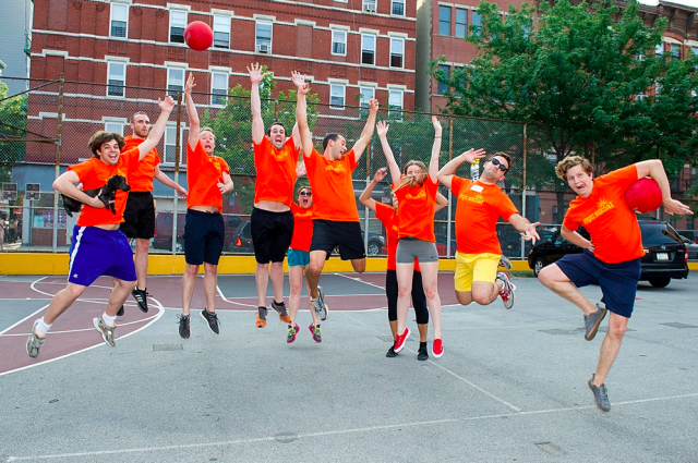 Why joining this kickball league is better than a dating app