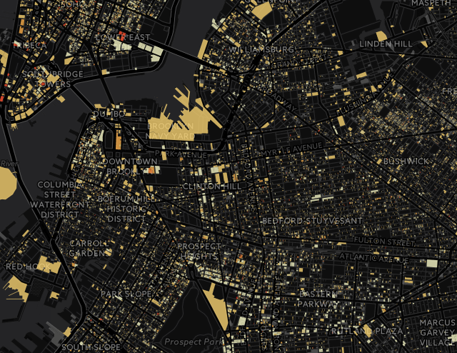 The dapmap lets you see how bad things really are in each neighborhood.