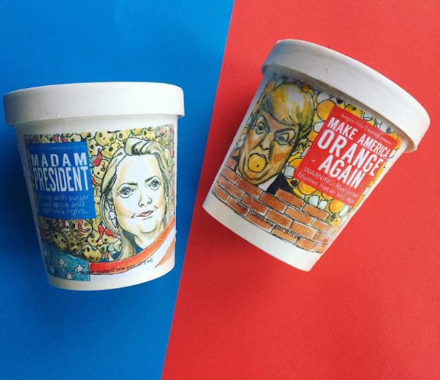 Ample Hills now has election-themed ice cream flavors
