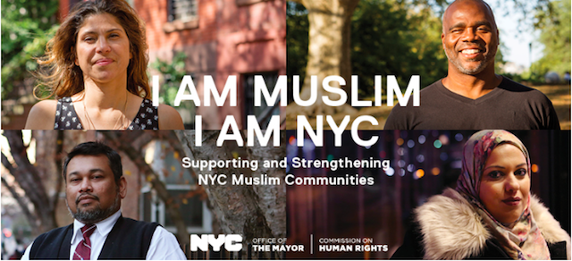De Blasio announces new ad campaign in support of New York's Muslim community