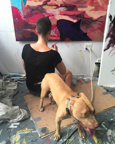 Meet the Bed-Stuy artist immortalizing your pets one portrait at a time