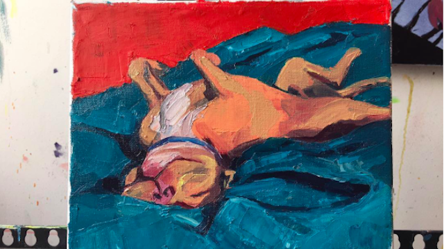 Paint me like one of your French Terriers via Instagram