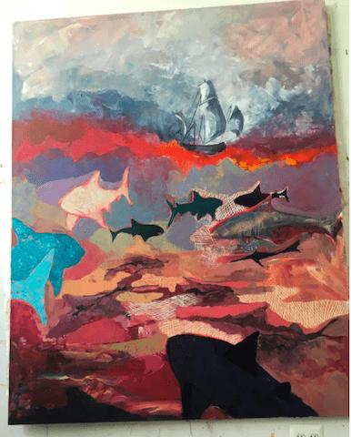 A work in progress via Instagram