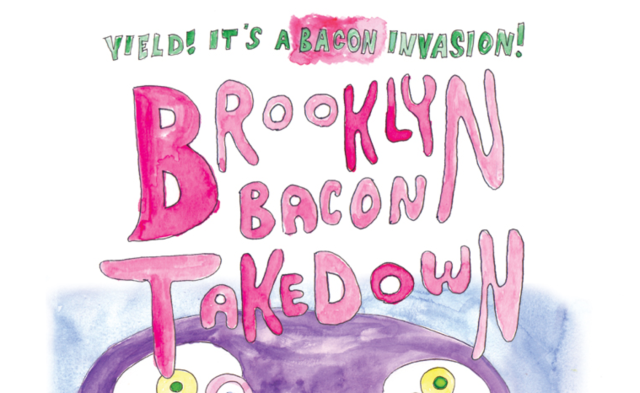 $20 buys you all-you-can-eat bacon at this Brooklyn cookoff