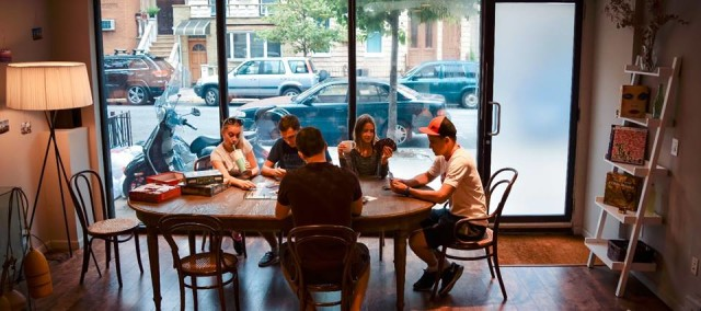 This new Williamsburg cafe may have solved the problem of laptop loiterers