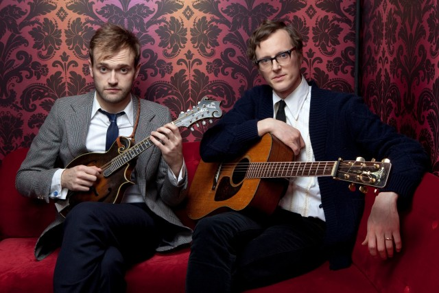 Chris Thile & Michael Daves will ease your Halloween hangover (#18)