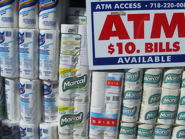 Don't throw your money down the toilet. via @proteinbiochemist / Flickr