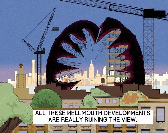 Brokelyn comic: more like dev-hell-opments, amirite