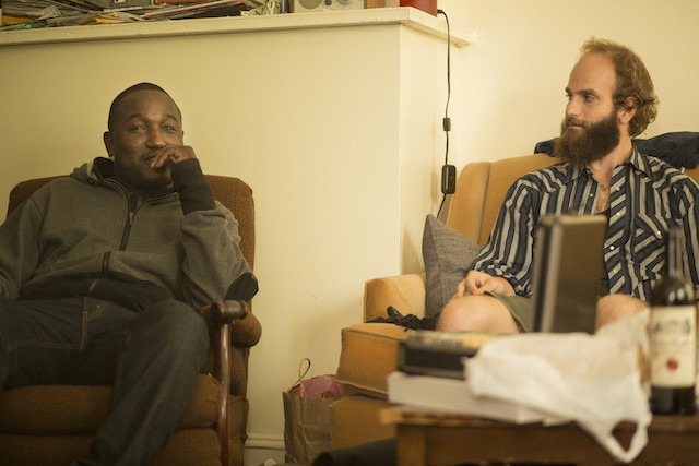 Hannibal Buress (playing himself) and The Guy (Ben Sinclair) go deep on meta this week. Photo by Craig Blankenhorn/HBO.