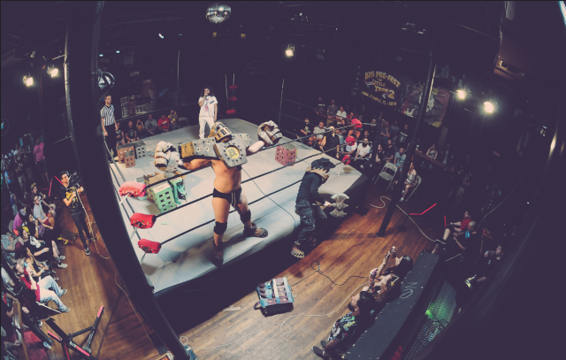 Wild out weirdly with Kaiju Big Battel (#) (photo by Nicole Kilbert/Flickr)