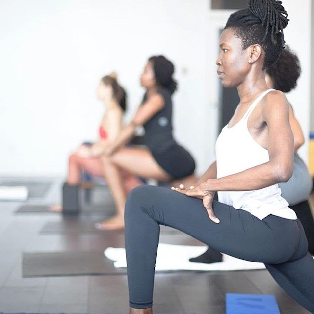 Reap all the sweet perks of a front desk job at this Bed-Stuy yoga studio. via FB