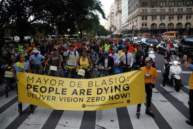 Transportation Alternatives is standing with Black Lives Matter — and some members are pissed