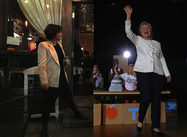 I'm (dressing) with her: Searching for the perfect election-time Hillary pantsuit in BK