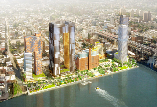 Apply now: The lottery for $596/month studios at the old Domino Sugar factory site opens today