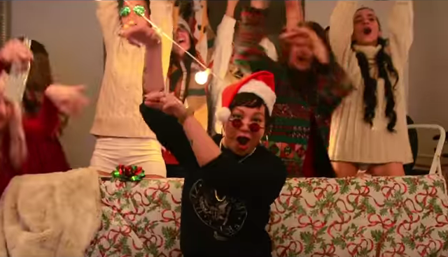 WATCH: The catchy Christmas rap you won't get sick of hearing this holiday