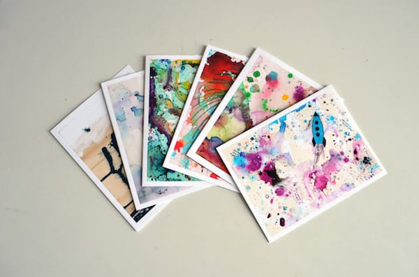 Tamara Garvey Illustration Abstract Cards