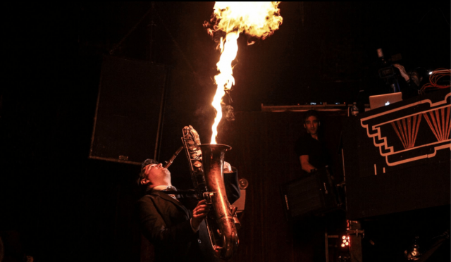 Get fired up for Gato Loco (#) (pix by Human Touch Photo)