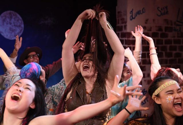 "The cast of Hair is here to ""get noisy."""