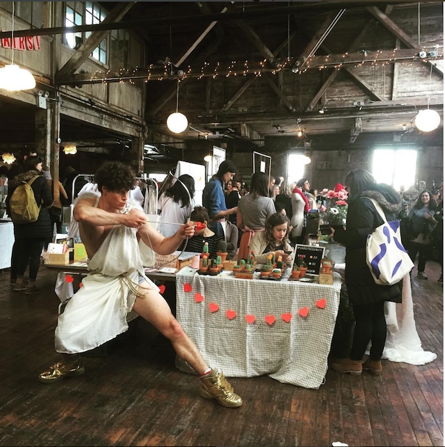 Swing dance your singleness away at Greenpointer's Valentine's market next Sunday