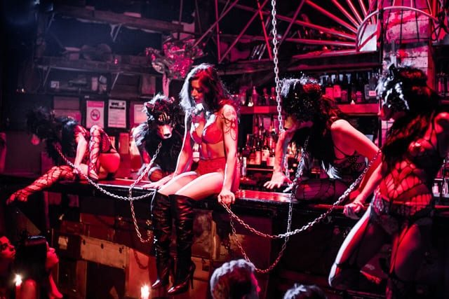 Of whips and thruples: Inside the House of Yes's V-Day pleasure bash, The Story of Red