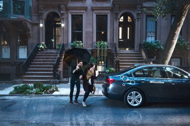 Don't let bad weather ruin an otherwise good date. via ReachNow.
