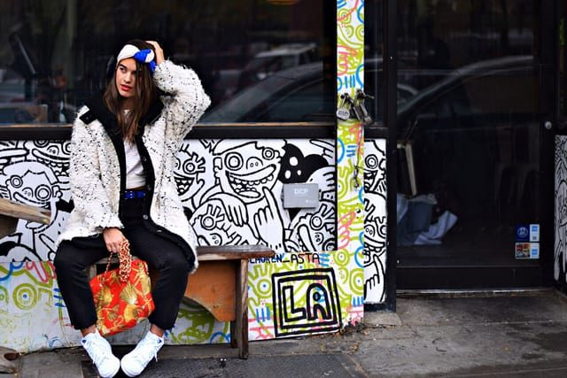 Williamsburg street style: Brooklyn black is the antidote to Fashion Week