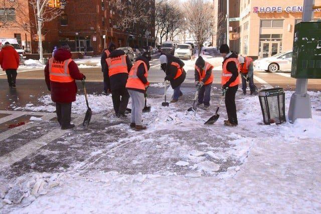Snow Removal Job