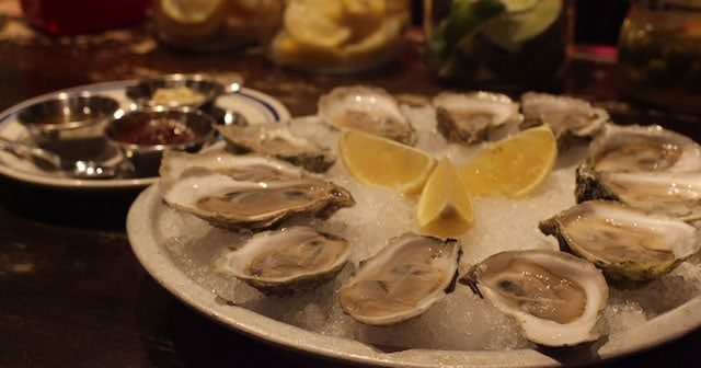 O Oysters, come and walk with us. Photo via Catfish