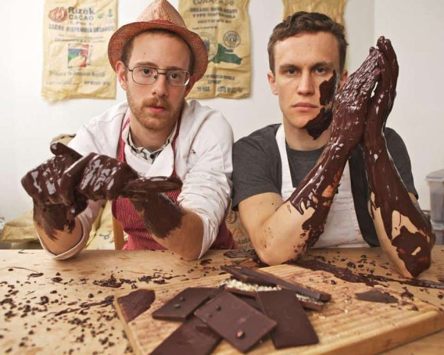 Get deliciously dirty with the founder of Rakka Chocolate (#)