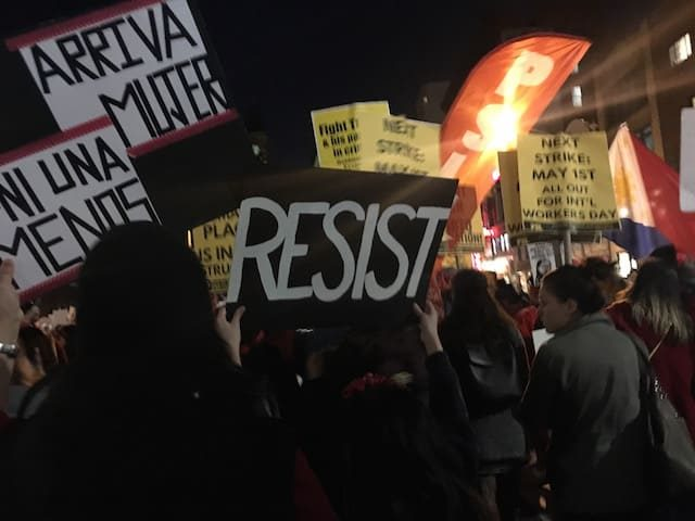 This week in anti Trump activism: Last Resort(s)