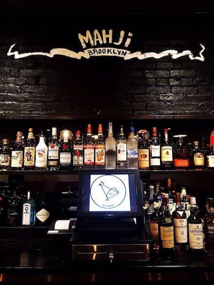 Behind the bar. Photo via Yelp user Livia C.