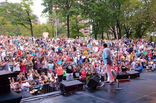 Tony Vega at East River Park in 2011. Photo courtesy of Mia Min Yen