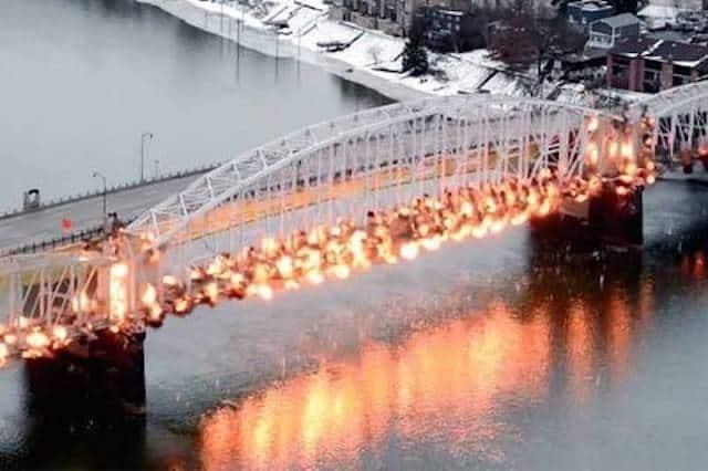 'Kosciuszko Philharmonic Orchestra' petitioning to serenade the bridge's dynamited demolition