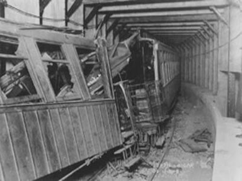 The Malbone Street Wreck. Photo via Wikipedia