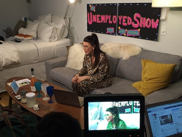 Facebook Live's 'The Unemployed Show' or how to stop working and love your PJs