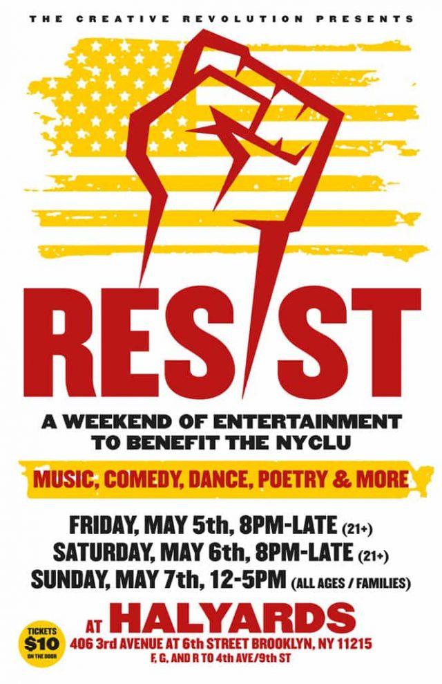 Resist 2 Poster.indd