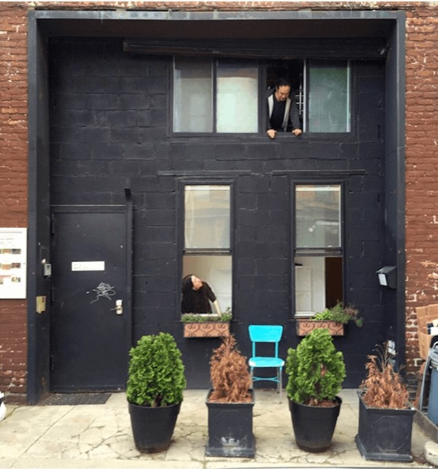 Garnica, below, and Moriya, above, are fighting to register their space as a Loft