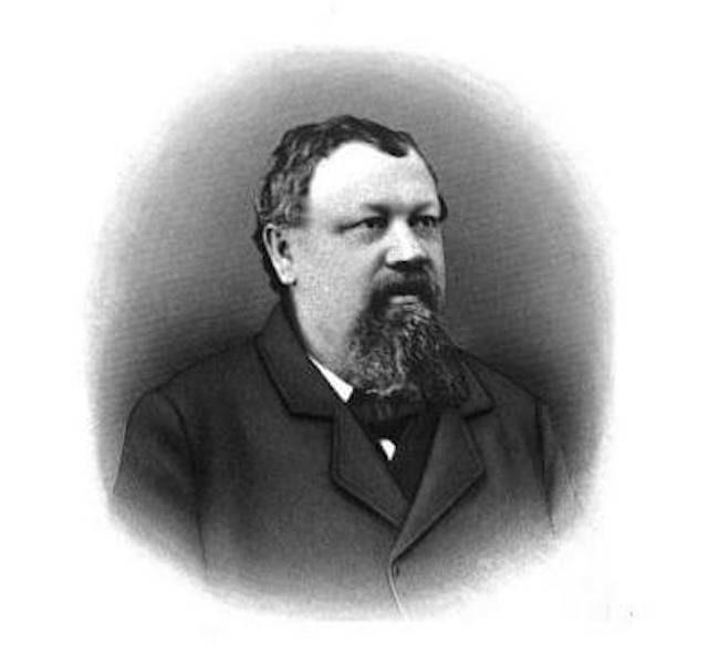 A portrait of Leonhard Eppig via Brookston Beer Bulletin