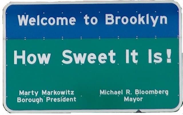 Certainly the rents in Brooklyn were quite a bit sweet back in the time people still talked like this sign.