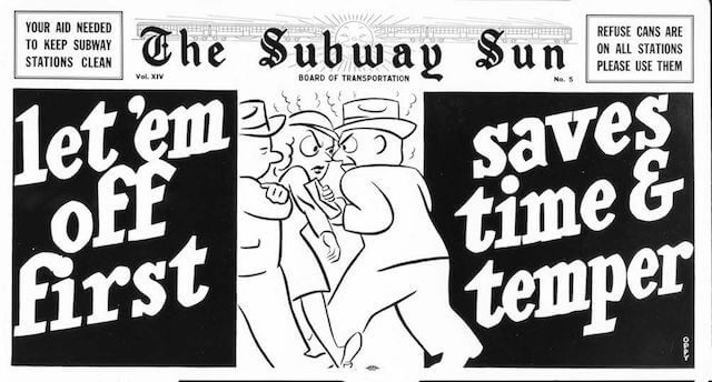 A debriefing on subway etiquette: The Do's and Dont's of being a courteous straphanger