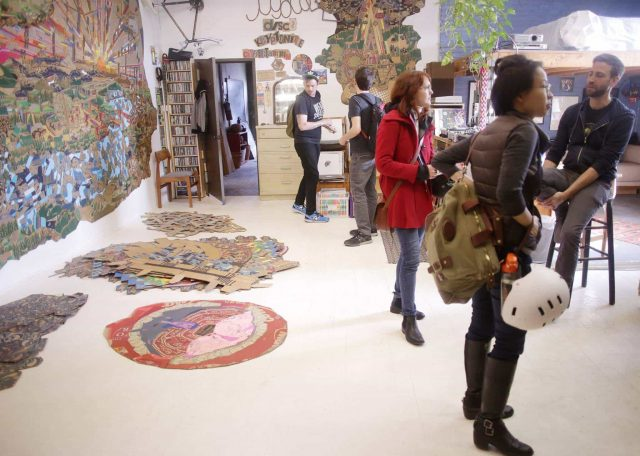 The artists' way is through Greenpoint at Greenpoint Open Studios this weekend