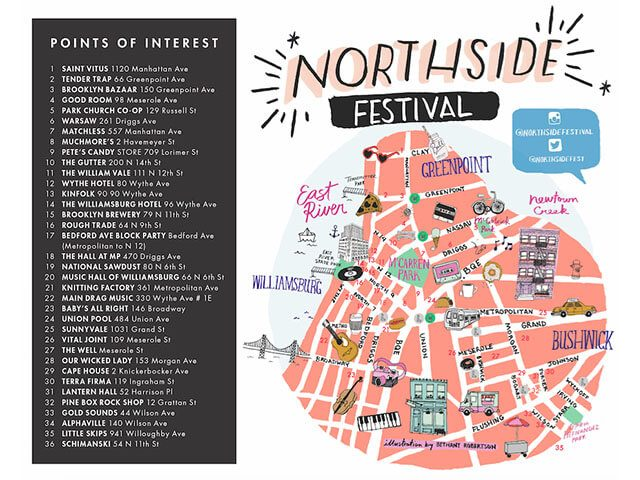 Northside on the cheap 2k17: All the best free and cheap shows to see without a badge this year