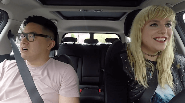 Binge watch Brokelyn's video series 'Get In the Car' with Lane Moore