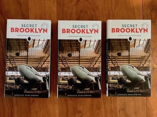 Party at Park Slope's Superhero store for Untapped Cities' 'Secret Brooklyn' book launch