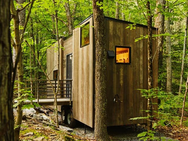 We stayed a tiny house and you can too