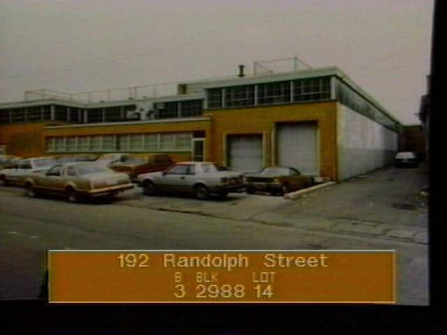 The performance space in its bus depot days. Photo via Property Shark
